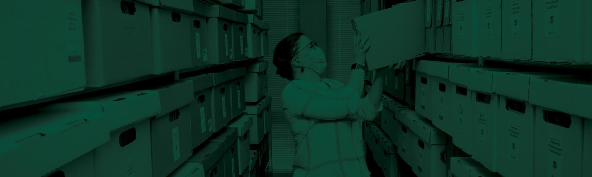 University Archives Background Image