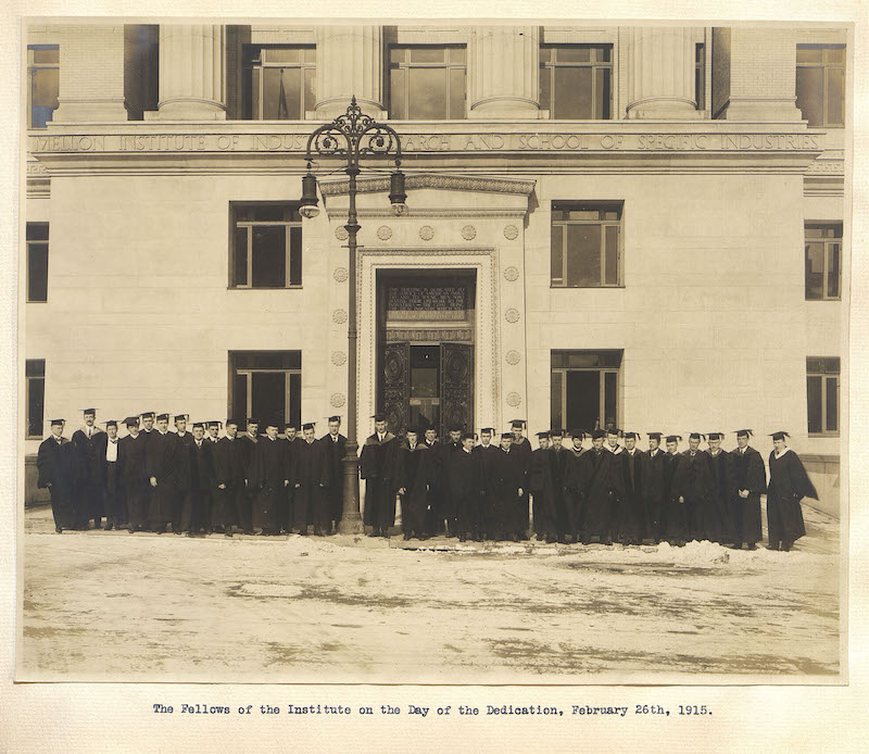 Our Fellows in France: The Mellon Institute during World War I